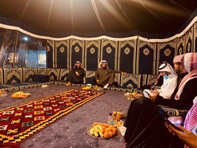 انطلاق فعاليات خيمة الموروث والتراث بثقافة الشمالية