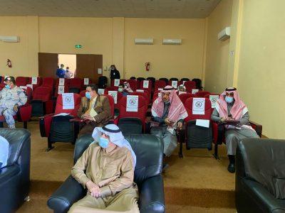 تنظيم محاضرة تعريفية بحقوق الإنسان في محافظة طريف