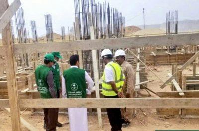 """بتمويل السعودية .. بناء أكبر مدرسة بمدينة """"سيئون"""" في اليمن"""