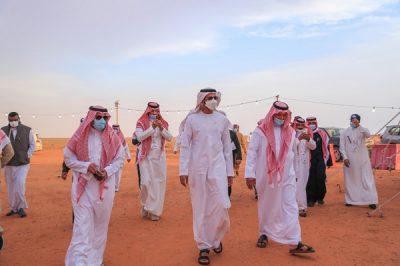 في ظل ظروف استثنائية سفير الإمارات لدى المملكة يثنى على تنظيم مهرجان الإبل