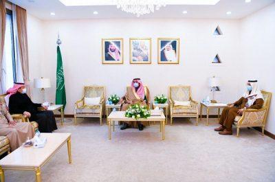 سمو محافظ حفرالباطن يستقبل رئيس القطاع الشرقي لشركة الكهرباء السعودية