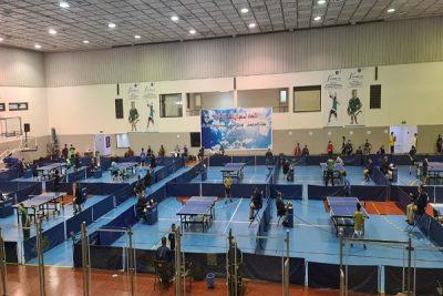 انطلاق بطولة الأمير فيصل بن فهد للفردي والزوجي لكرة الطاولة للأشبال والناشئين والأولمبي