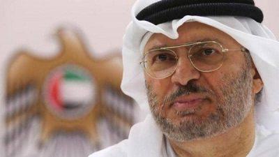 """قرقاش: العلاقات مع السعودية ومصر """"أعمدة رئيسية"""" لنا"""
