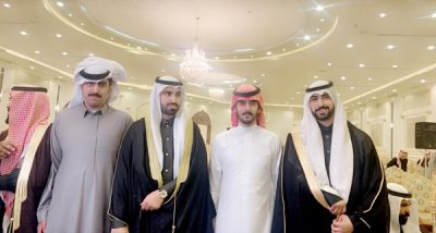 عباس الخياري يحتفل بزواج أبنائه