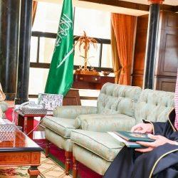 سمو الأمير فيصل بن خالد بن سلطان يتفقد مركز طلعة التمياط