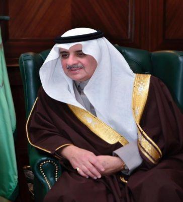 أمير تبوك يرفع التهنئة باسمه ونيابة عن أهالي المنطقة للقيادة الرشيدة بمناسبة نجاح اعمال القمة الخليجية