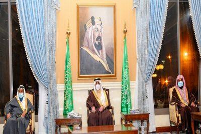 سمو أمير تبوك يستقبل المواطنين في اللقاء الأسبوعي