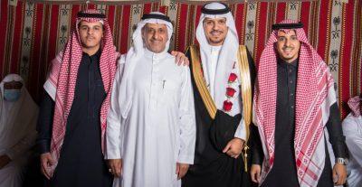 """أبناء """"بن عايض"""" يحتفلون بـ"""" فهد"""""""