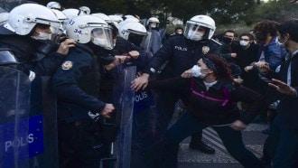 اتساع الاحتجاجات الطلابية المناهضة لأردوغان في اسطنبول