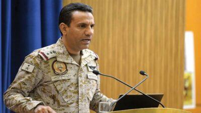 التحالف: تدمير طائرة مفخخة أطلقتها ميليشيا الحوثي باتجاه مطار أبها