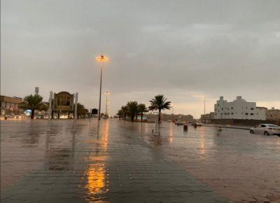 """""""الإنذار المبكر"""" يُصدر عدة تنبيهات حول حالة الطقس في عدداً من المناطق"""