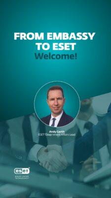 """"""" آندى جارث"""" السفير البريطانى السابق ينضم لشركة إسيت لقيادة قطاع الشئون الحكومية"""