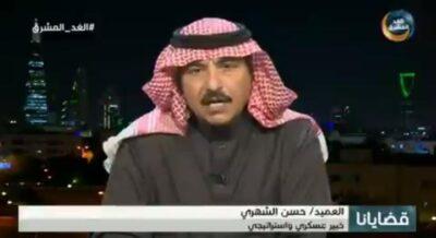 """""""الشهري"""" : المسؤول عن العمليات العسكرية نجاحها أو فشلها هو القائد العام للقوات المسلحة اليمنية"""