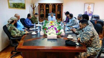 اللجنة الأمنية بالعاصمة عدن تُقرُّ خطتها الأمنية للعام 2021