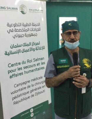 رئيس وفد مركز الملك سلمان الإغاثي يؤكد أن الهدف الأسمى للمركز هو تقديم العون للإنسانية