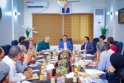 """""""لملس"""" يشدد على تكاتف جميع قيادات وكوادر مؤسسة المياه في ظل انعدام الدعم الحكومي"""