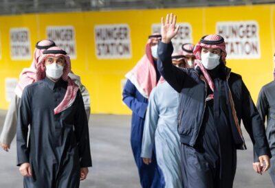 ولي العهد يشهد سباق فورمولا الدرعية