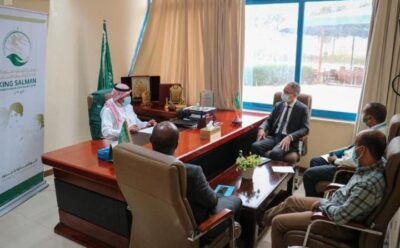 مكتب مركز الملك سلمان للإغاثة بعدن يناقش مع اليونيسيف سير المشاريع المشتركة في اليمن