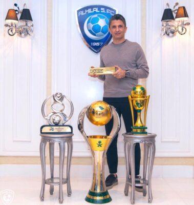 """إدارة الهلال تقيل المدرب """"رزافان"""" وتكلف """"مياكلي"""""""