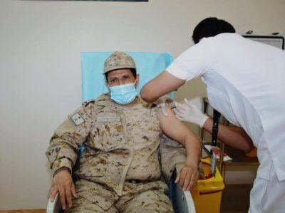 تدشين مركز لقاحات كورونا بمستشفى القوات المسلحة بالشمالية بحفرالباطن