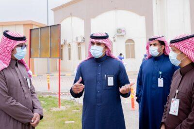 مدير الشؤون الصحية بحفر الباطن يتفقد المشاريع الصحية التطويرية الجاري تنفيذها بالمحافظة