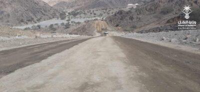 """فرع وزارة النقل بمكة المكرمة يفتتح طريق """"الفروخيه الترابي"""" الجديد بطول ١٠ كم"""