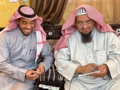 """"""" عبدالكريم الحداد """" يعقد قِرانه في تبوك"""