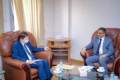 """""""لملس"""" يلتقي ممثل «المفوضية السامية لحقوق الإنسان»"""