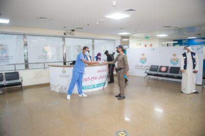 """تدشين حملة الخدمات الطبية """"حصّن لتأمن"""" من مكة المكرمة"""