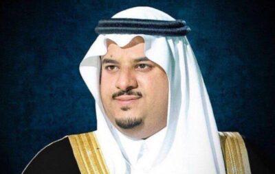 نائب أمير الرياض يطمئن على المتضررين من سقوط شظايا الصاروخ الباليستي