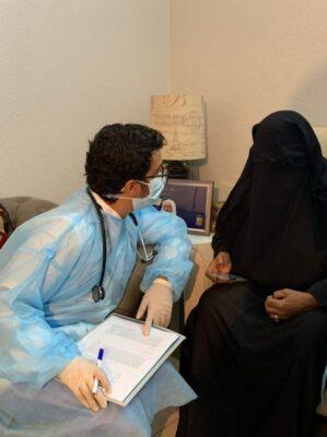 """الصحة في جدة تطلق حملة التطعيم ضد """"كوفيد 19"""" لمرضى الطب المنزلي"""