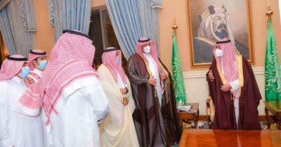 أمير منطقة تبوك يستقبل رئيس وأعضاء مجلس إدارة نادي ضباء الرياضي