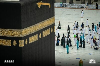 منظومة خدمية متكاملة تقدمها رئاسة شؤون الحرمين حول الكعبة المشرفة