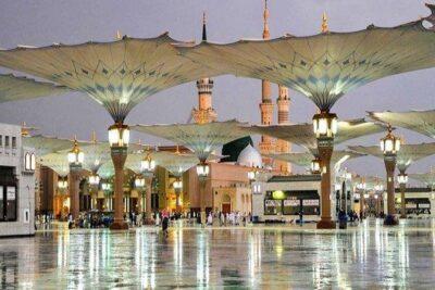 إطلاق خطة طوارئ للتعامل مع الأمطار في المسجد النبوي