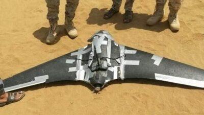 الجيش اليمني يسقط 3 طائرات مسيرة للحوثي
