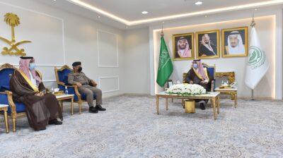 سمو أمير نجران يستعرض خطة شهر رمضان ويشدد على ضرورة فرض العقوبات على المخالفين