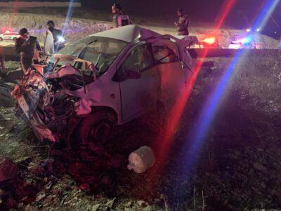 مصرع وإصابة 4 أشخاص في حادث سير بالباحة
