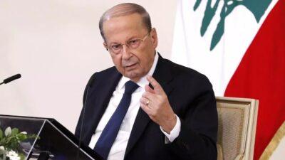 """""""ميشال عون""""  : لبنان لن تكون معبراً لما يضر السعودية والخليج بشكل خاص"""