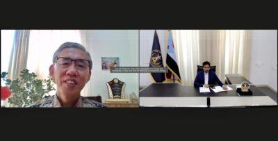 الغيثي يؤكد للسفير الصيني على أهمية وجود عملية سياسية شاملة