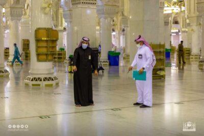 تدشين قاعات انتظار للمعتمرين بالتوسعة السعودية الثانية