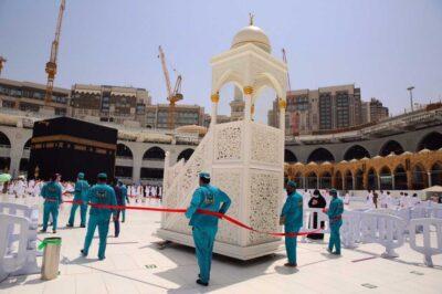 منظومة خدمية متكاملة لصلاة آخر جمعة قبيل شهر رمضان المبارك