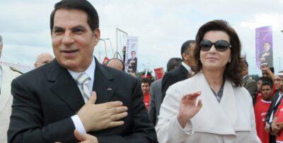 السجن 6 سنوات لزوجة الرئيس التونسي زين العابدين بن علي وابنتهما نسرين
