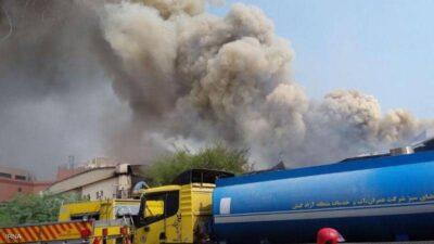 صحيفة: انفجار إيران وقع في مصنع لتصنيع الطائرات المسيرة