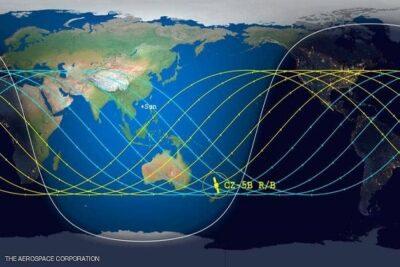 """تحديد """"موعد ومكان"""" وصول الصاروخ الصيني إلى الأرض"""