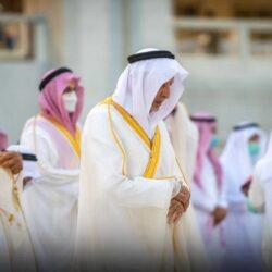 سمو ولي العهد يؤدي صلاة عيد الفطر المبارك في جامع الإمام تركي بن عبدالله بالرياض