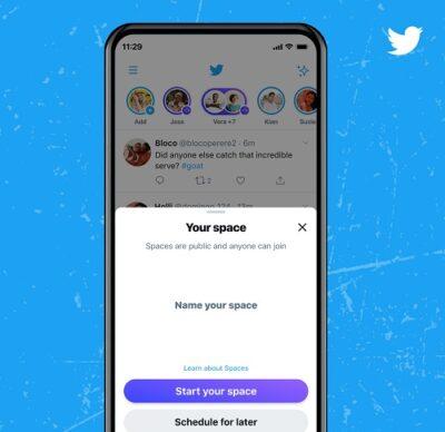 """تويتر يوفر القدرة على استضافة """"مساحة"""" لجميع الحسابات التي تضم 600 متابع أو أكثر"""