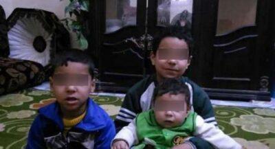 زوج مصري يذبح زوجته وأبناءه الخمسة ويحاول الانتحار