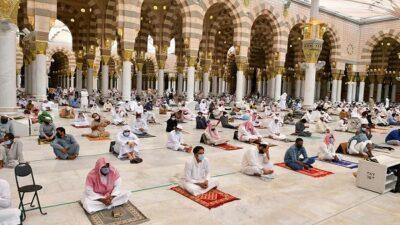 تهيئة 20 ألفًا و569 مسجدًا لصلاة عيد الفطر بمختلف مناطق المملكة