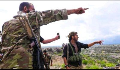 معارك عنيفة بين قوات اللواء الثالث بالمقاومة الجنوبية و مليشيا الحوثي بالضالع