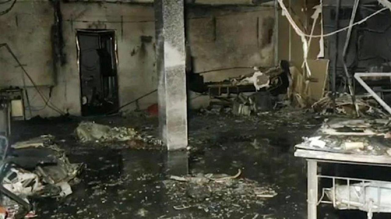 وفاة 16 مصاباً بكورونا في أحد المستشفيات الهندية إثر اندلاع حريق